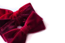 velvet bows velvet bow styles headband or clip