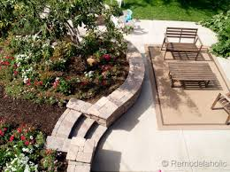 Rumblestone Fire Pit Insert by Diy Rumblestone Seat Wall And Fire Pit Kit Installation