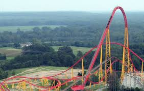 dominion review of kings dominion intimidator 305 roller coaster