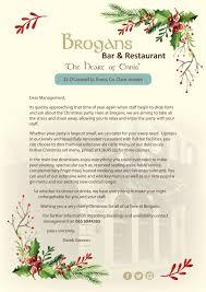 brogans bar and restaurant ennis ireland welcome music food