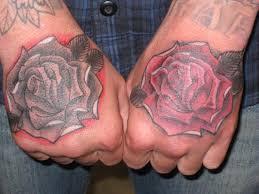 hand tatto for men 27 best rose tattoos for men n han images on pinterest rose