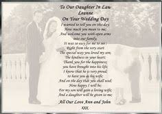 to my on our wedding day card in wedding day poem gift poem sons and gift