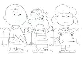 free charlie brown snoopy and peanuts coloring pages charlie