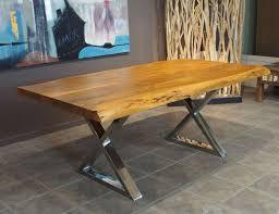 corcoran importation zen dining table acacia disc c zen 9fs
