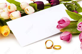 wedding flowers background wedding concept with roses and rings stock photo picture and
