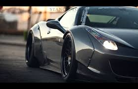 wide u0026 aggressive liberty vip stance works the liberty walk ferrari 458