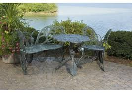 Butterfly Patio Chair Flowerhouse Butterfly 3 Piece Bench Seating Group Set U0026 Reviews