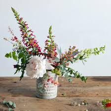 The Handpicked Vase Surprise Mom With A Beautiful Handmade Flower Arrangement Martha