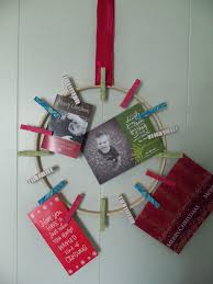 katydid and kid holiday card wreath tutorial