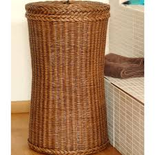 bathroom exciting wicker laundry hamper for clothes storage