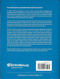 a guide to the scrum body of knowledge sbok guide scrumstudy