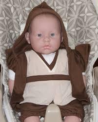 halloween jedi costume baby jedi inspired costume baby star wars hooded robe