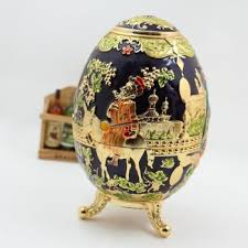 Toothpick Holders Russia Style Enamel Egg Shape Toothpick Holder With Bottle Opener