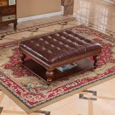 dark brown tufted storage ottoman bench free shipping today
