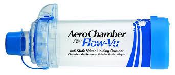 chambre d inhalation aerochamber aerochamber plus flow vu mouthpiece capitalmedicalsupply ca