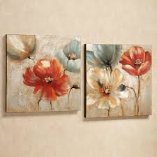 wall art designs awesome floral wall art canvas metal flowers