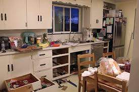 Rebuilding Kitchen Cabinets by Adding A Dishwasher To Existing Cabinets Twofeetfirst