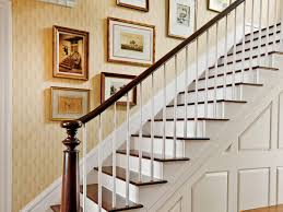 Hangart by How To Hang Art In A Stairwell Southern Living