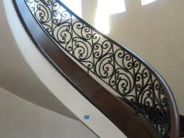 Stair Banisters Railings 79 Best Wrought Iron Railing Images On Pinterest Stairs