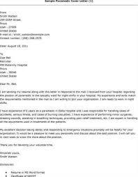 emt cover letter professional emt cover letter sample writing