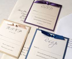 wedding invitations with response cards wedding rsvp cards filled out lake side corrals