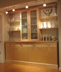 glass kitchen wall unit doors picture of custom made maple kitchen wall unit glass door