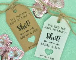 The Knot Favors by Take A We The Knot Tag Wedding Favor Tag Bridal