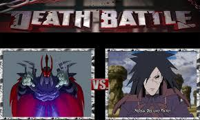 vs madara tengu shredder vs madara uchiha by jasonpictures on deviantart