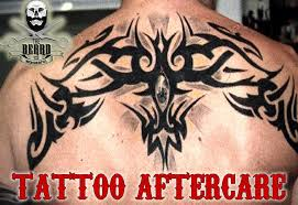 tattoo neck care tattoo aftercare what to expect and how to care for your fresh new