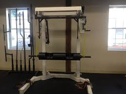 Bench Without A Spotter Strength Training 101 Equipment Nerd Fitness