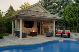 pool house plans with fireplace house list disign