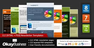 50 marketing newsletter templates sixthlifesixthlife