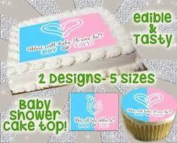 gender reveal cake topper heart buck or doe deer cake topper baby shower picture gender