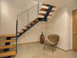 ideas attractive deck stairs plus iron handrails for how to build