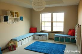 Bench Toy Storage Playroom Update U2013 Simply Being Abby