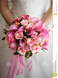 wedding flowers images free pink wedding bouquet royalty free stock photo image 24550525