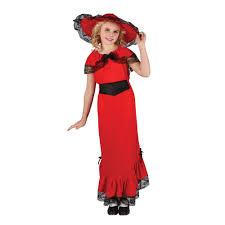 girls victorian scarlet vintage fashion dress fancy dress