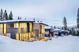 stellar townhomes are lake tahoe u0027s answer to the energy efficient