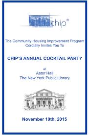chip cocktail party invite original energy