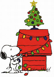 brown christmas snoopy dog house snoopy s doghouse decorated with christmas lights woodstock and