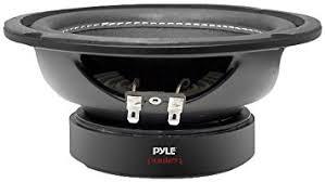 amazon car stereo black friday amazon com pyle plpw6d 6 inch 600 watt dual 4 ohm subwoofer car