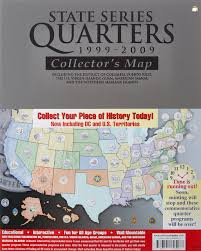 Map Of Puerto Rico And Us by Amazon Com State Series Quarters 1999 2009 Collectors Map