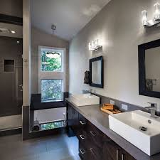 good overall ambient light is important in a bathroom where many