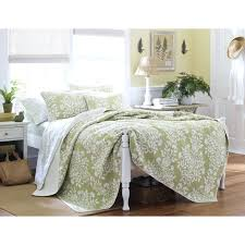 laura ashley rowland blue quilt set from beddingstyle com sage