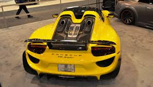 Porsche 918 Yellow - 2015 porsche 918 spyder weissach package with xpel paint protection 6