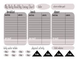printable weight loss diet chart calorie tracking chart free printable this michigan life