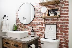 how to hang kitchen cabinets on brick wall diy faux brick wall sammy on state