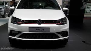 volkswagen up white 2015 volkswagen polo gti powers up in time for paris live photos