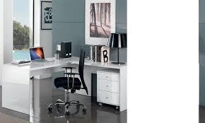 meubles bureau meubles de bureau pas chers blanc laqué