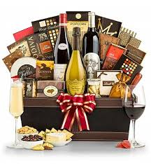 food gift baskets 9 outrageous food and wine gift baskets food galleries paste
